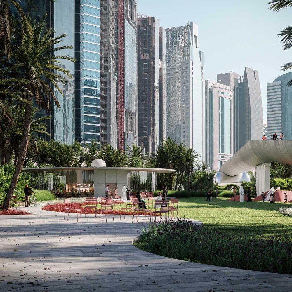 Park Doha 3D Rendering